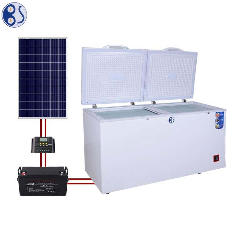 Hot Sell Solar Powered Chest Deep Freezer