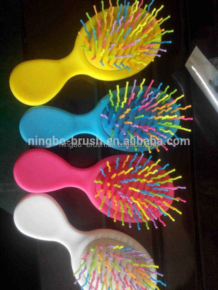 Most selling products hair extension baby hair brush shipping from China