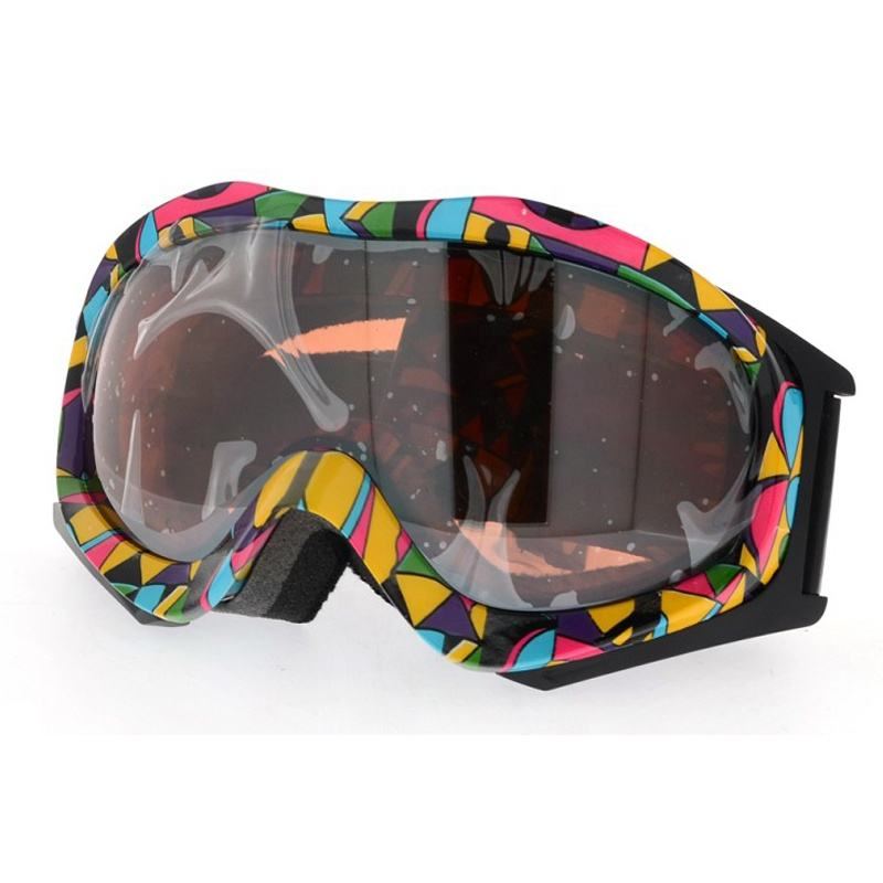 Easy fit strap TPU กรอบ snow goggles แว่นตา