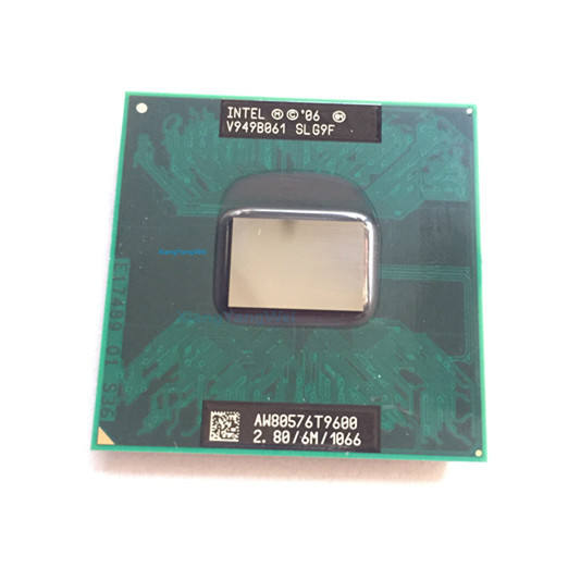 For intel CPU Core 2 Duo T9600 CPU 6M Cache/2.8GHz/1066/Dual-Core Socket 478 laptop processor GM45 PM45