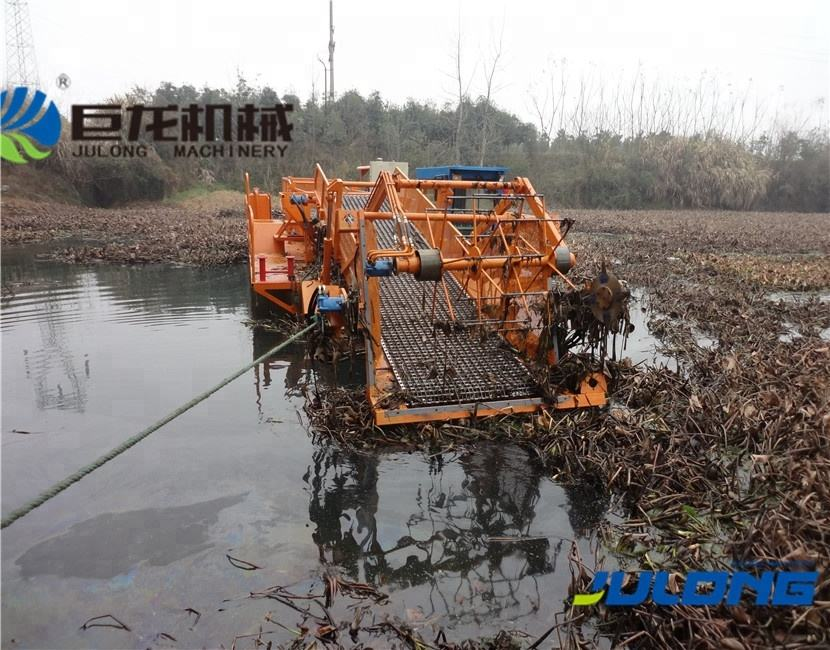 Semiautomatic Seabed Aquatic Plant/water Surface Garbage Cleaning/collection Boat/ship