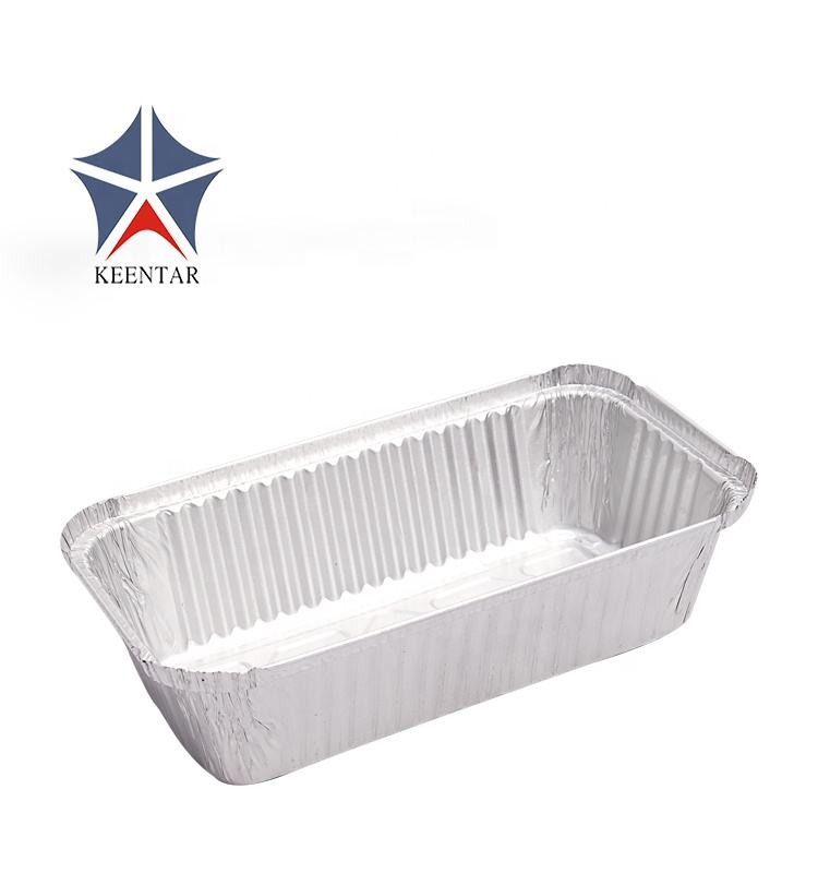 UK Market 6A Disposable Takeaway Aluminum Foil Food Container With Lid