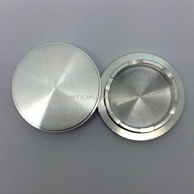 Rapid prototype manufacturing cnc aluminum parts clear anodized watch back case