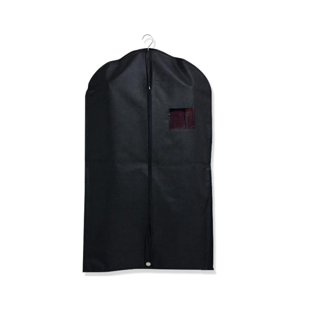 Factory Wholesale Custom Logo 75g non woven Reusable Foldable Suit cover/Garment Bag