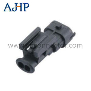 CNKF 10 Sets Sumitomo 2 pin male and female car connector Motor vehicle waterproof connector includes terminals and seals 6189-0172