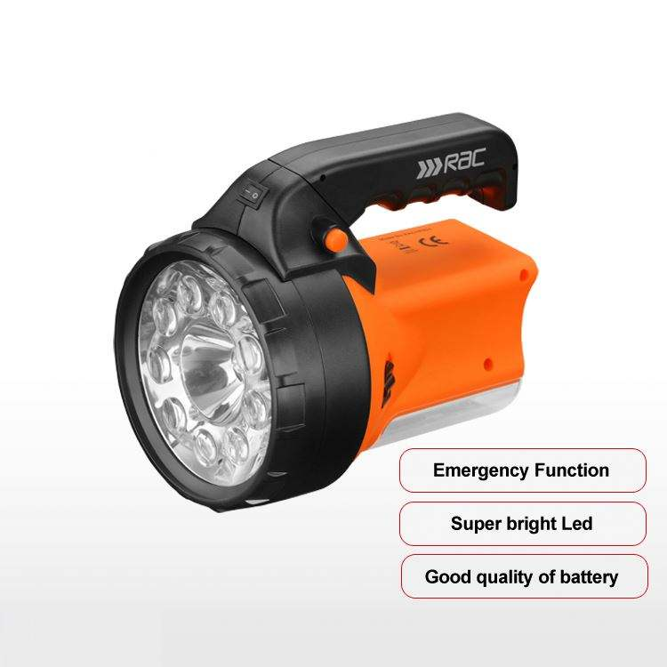 Durable using 9pcs super bright customized rechargeable led torch