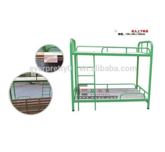 Children Furniture Single Bunk Beds with Stairs