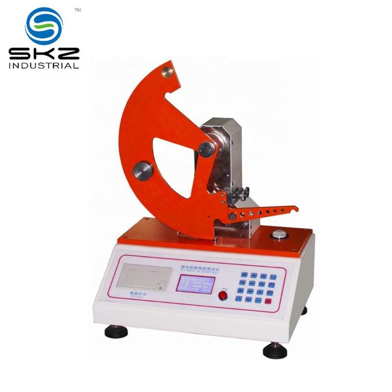 digital tearing strength tester machine for paper