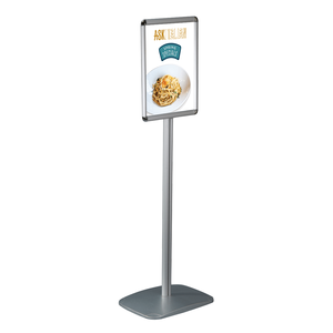 8.5 x 11 Floor Pedestal Poster Display Sign Stand Holder