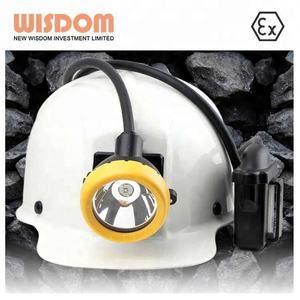 11000Lux led flashlight KL5M corded mining cap lamp WISDOM headlamp waterproof miners cap lamp