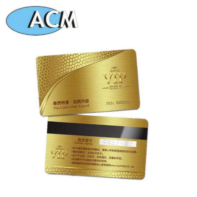 Low MOQs Hot Cake Cheap Plastic Pvc Metal Elegant Business Card Blank with Customize Logo