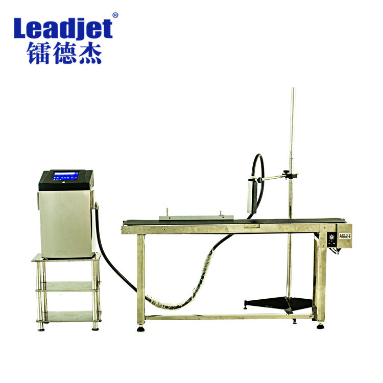 Leadjet White Inkjet Printing Machine Pipe Wire CIJ