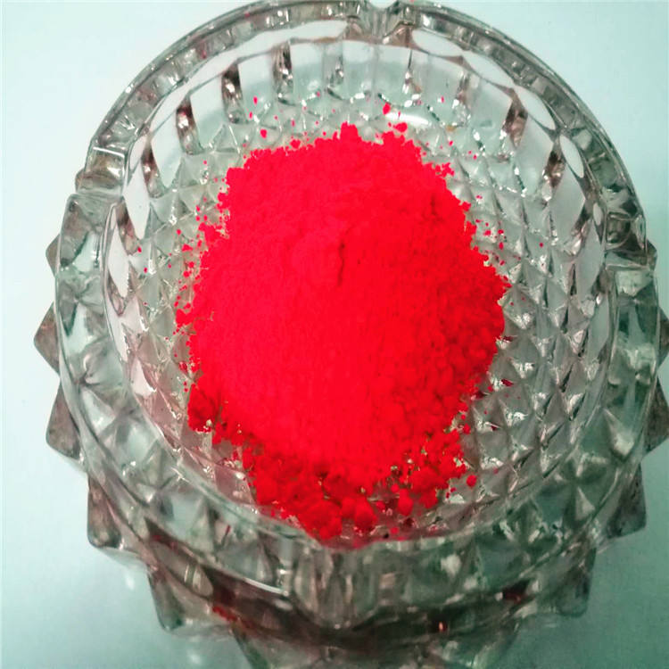 Fluorescent pigment Red beautiful red color for injection molding of masterbatch