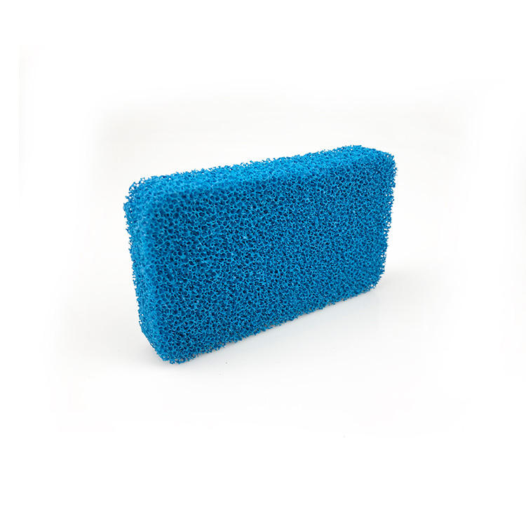 Packaging Customization [ Cleaning Brush ] Universal Brush Scrubber Odor Free Antimicrobial Honeycomb Hole High Density Kitchen Silicon Cleaning Sponge Universal Brush Scrubber