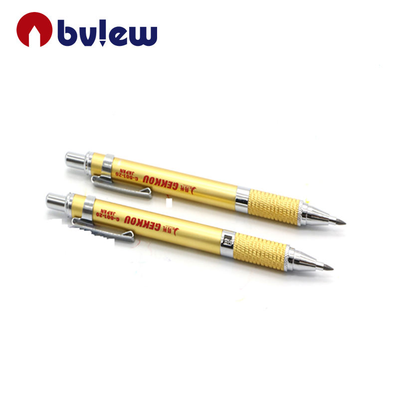 Amazon hot selling metal 2.0mm automatic draft mechanical HB pencil for artists painting
