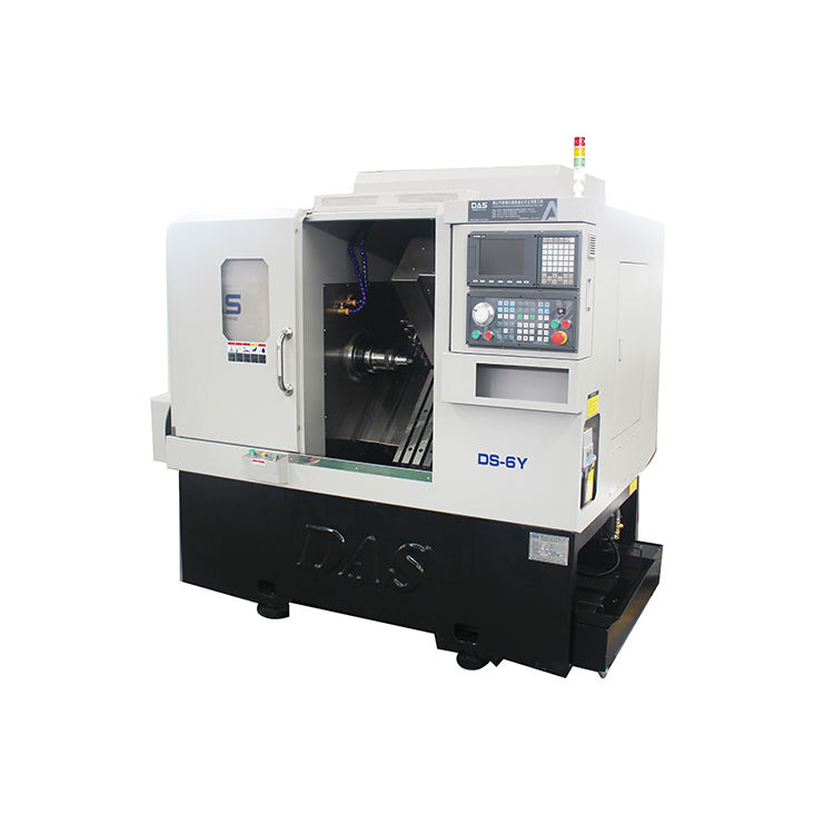 Precision cnc lathe Y C Axis type turning center slanting bed