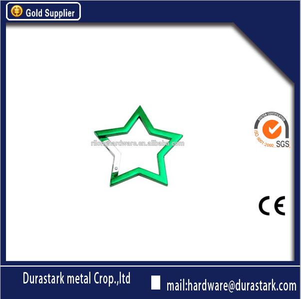 Verde <span class=keywords><strong>estrella</strong></span> de cinco puntas de gancho de seguridad