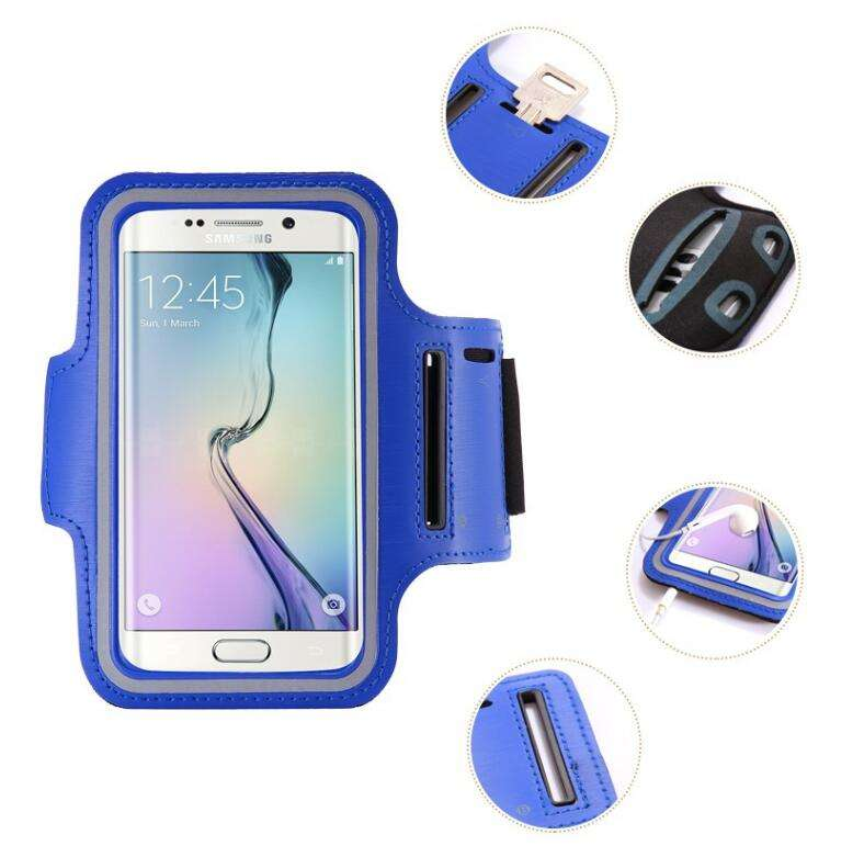 Sport Arm Band Case For Samsung Galaxy S8 Plus S7 Edge S6 Edge S5 S4 S3 S2 Galaxy Note 8 7 5 Sport Case Pouch