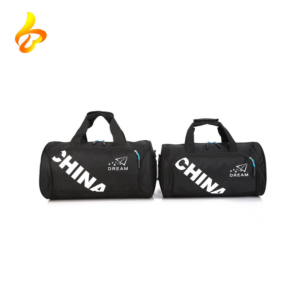 Travel Weekend Bag Waterproof Holdall Gym Custom Sport Bag With Shoe Compartment