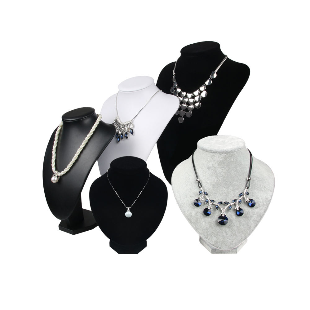 Earring Bracelet Ring Wholesale Large Black Jewelry Necklace Display Stands