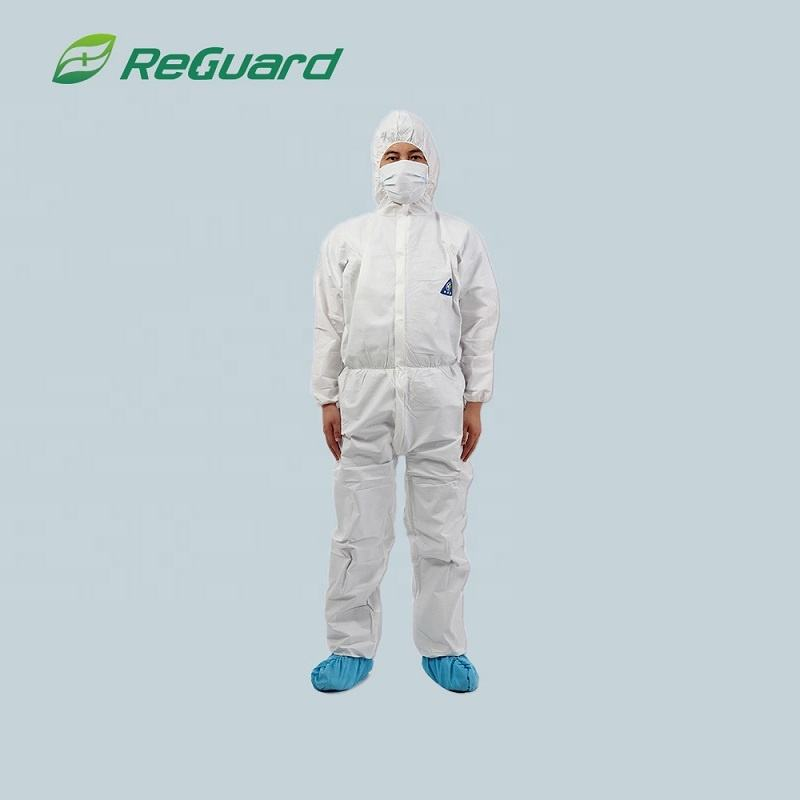 Cheap protective disposable breathable coverall