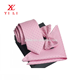 Wedding or party formal mens bowtie handkerchief necktie set with gift box