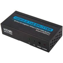 3D&1080P HDMI Splitter 1x2 4K metal Case factory price HDMI Splitter 1 in 2 output made in China