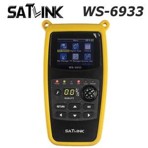 Asli Satlink WS-6933 Satellite Finder Meter Satlink DVB-S2 FTA C & KU Band WS6933 6933