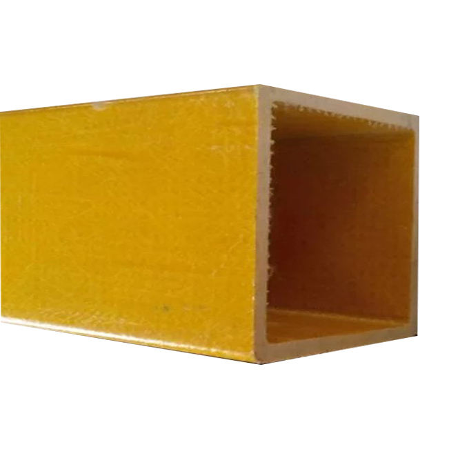 FRP/GRP Fiberglass Pultruded Profile Square Tubes
