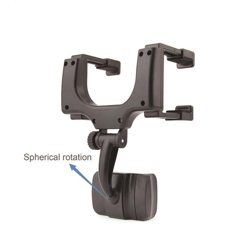 Universal Car RearView Mirror Mount Holder Car Stand Mobile Phone Holder for iPhone 7 Samsung