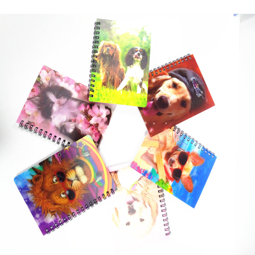 3d art notebook spiraal custom briefpapier fabrikant