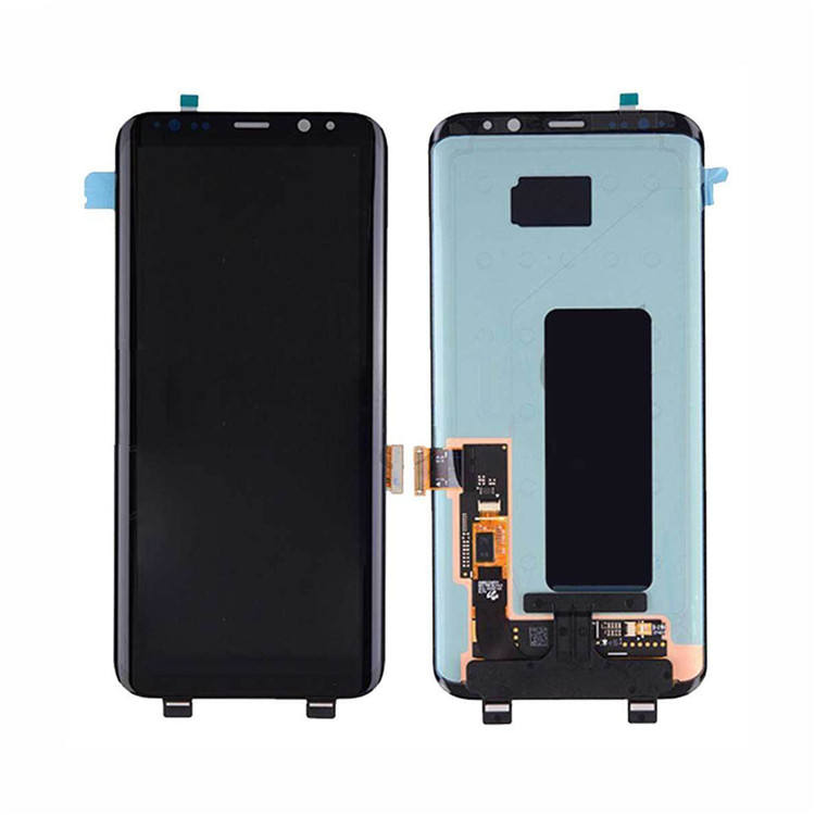 High quality lcd display for samsung s8 plu with good price G950F G950FD G950U G950A