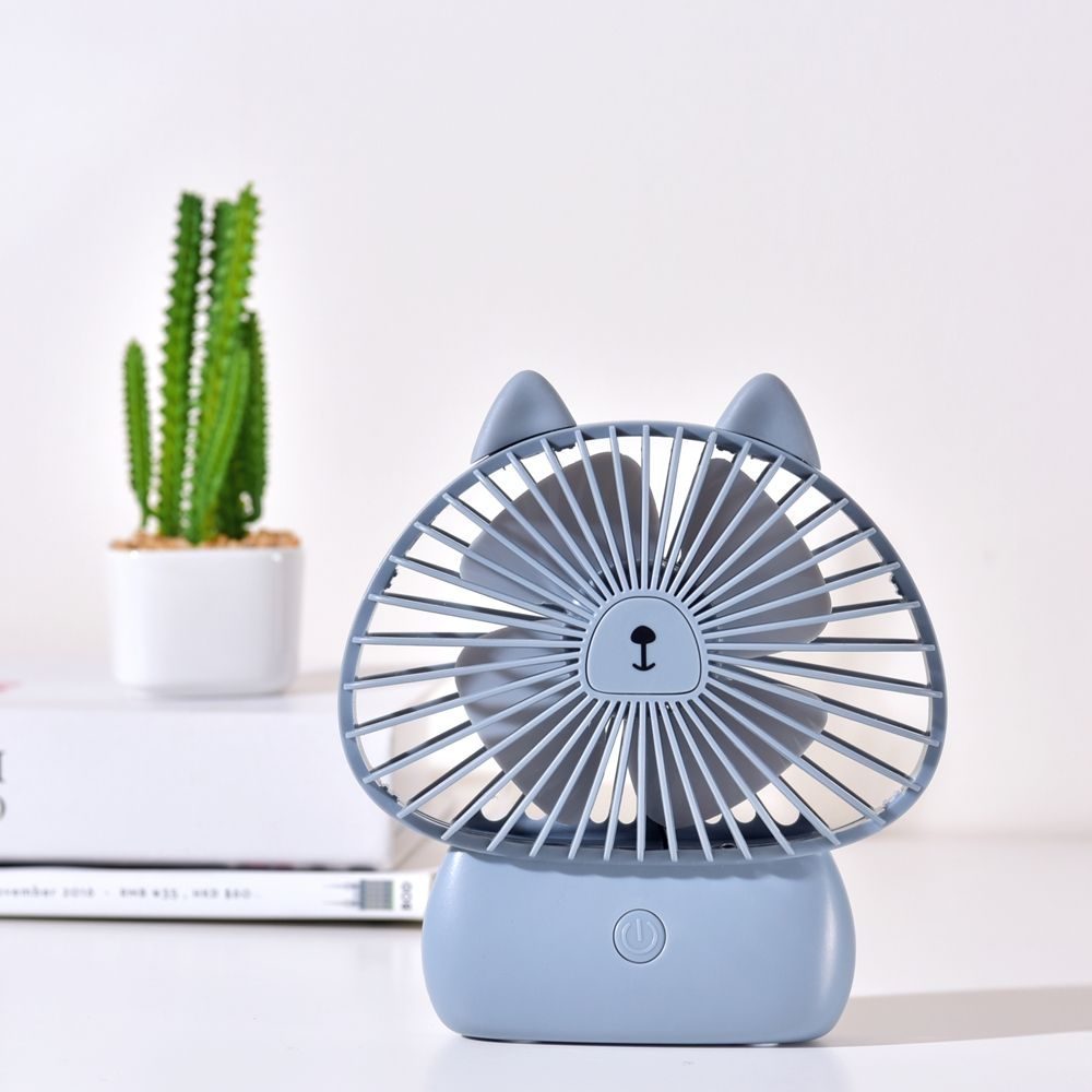 Baby Convertible Portable Custom Dc Desktop Handheld Led Desk Usb Mini Fan