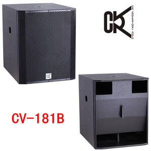 Pa-subwoofer dj-equipment subwoofer-box