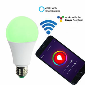 low price led bulbs housing electronics energy conservation e27 alexa google 9W 11W 14W mr16 smart bulb wifi