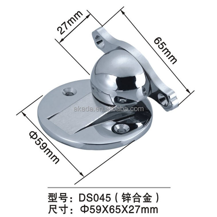 304 Stainless Steel Casting Powerful Magnetic Holder Catch Door Stopper