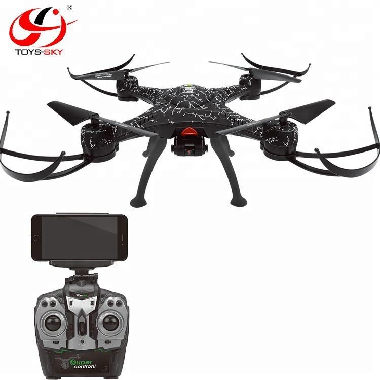 China toy factory Black Idow RC Quadcopter Drone Phantom 2.4G WIFI Camera Automatic Air Pressure High Headless Mode