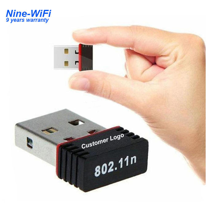 Nano wireless usb 2.0 150 mbps mt7601 wifi adapter mini usb lan dongle untuk android tablet