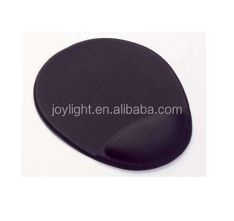 Promotion mouse pad with soft gel wrist rest