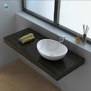 Bathroom shower solid surface basin and sink small size wash basin