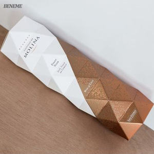 Clever Making Luxe Creative Red Wine Origami Packaging Boxes