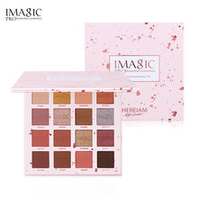 IMAGIC New Arrival Pressed powder palette eyeshadow beauty cosmetics eyeshadow palette high pigment eye shadow palette
