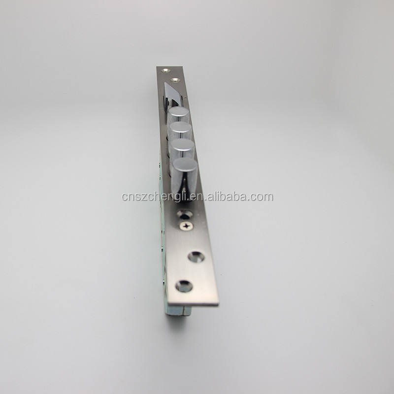 4 round bolts Mortise Door lock for steel gate