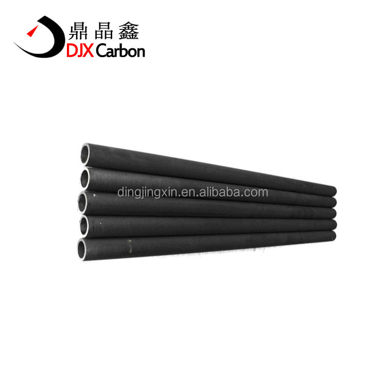 Oxidation Resistance Coarse Grained Carbon Graphite Tube