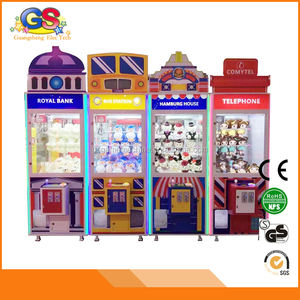 Coin Operated Arcade Toy Crane Claw Game Machine for Sale Prize Redemption