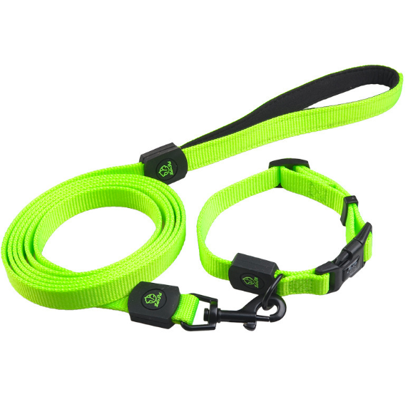 Best Prices Pet Collar and Leash Set Nylon Braided Pet Dog Collar & Leads High Quality for Training Walking Outdoors