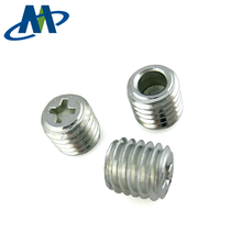 Hexagon socket set screws with flat point made in China