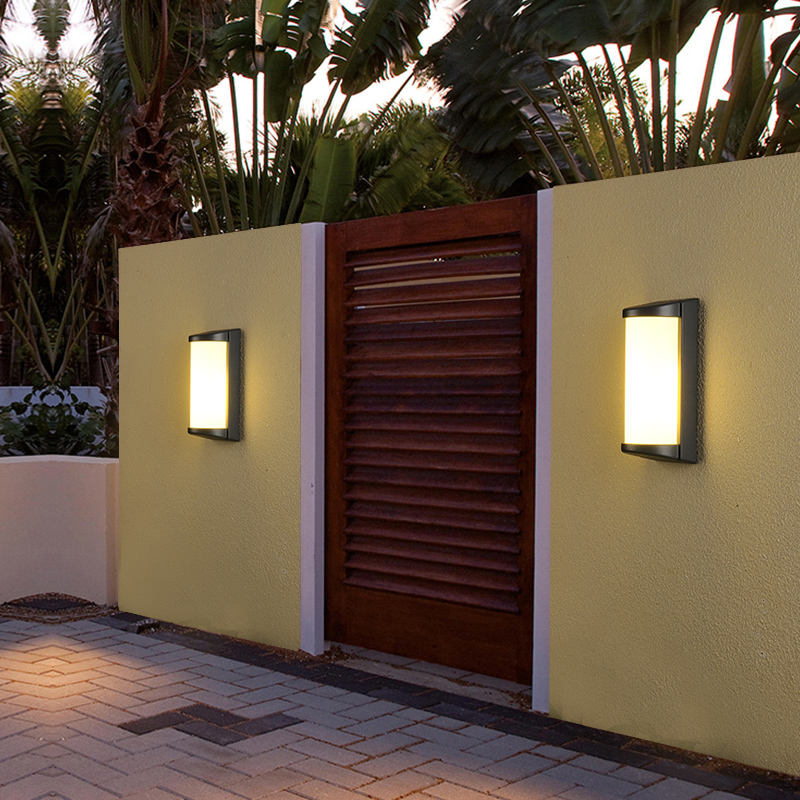 Outdoor Garden Wall Lamp E27 5w 10w 20