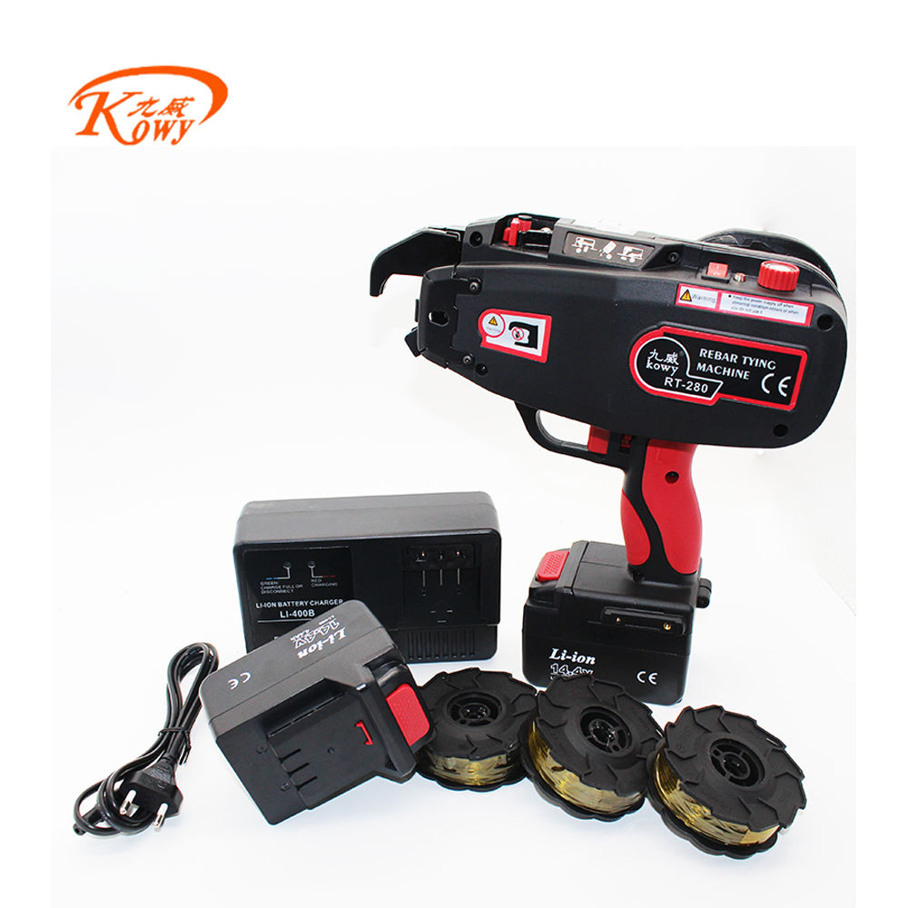 Kowy RT-280 rebar tying machine for building construction