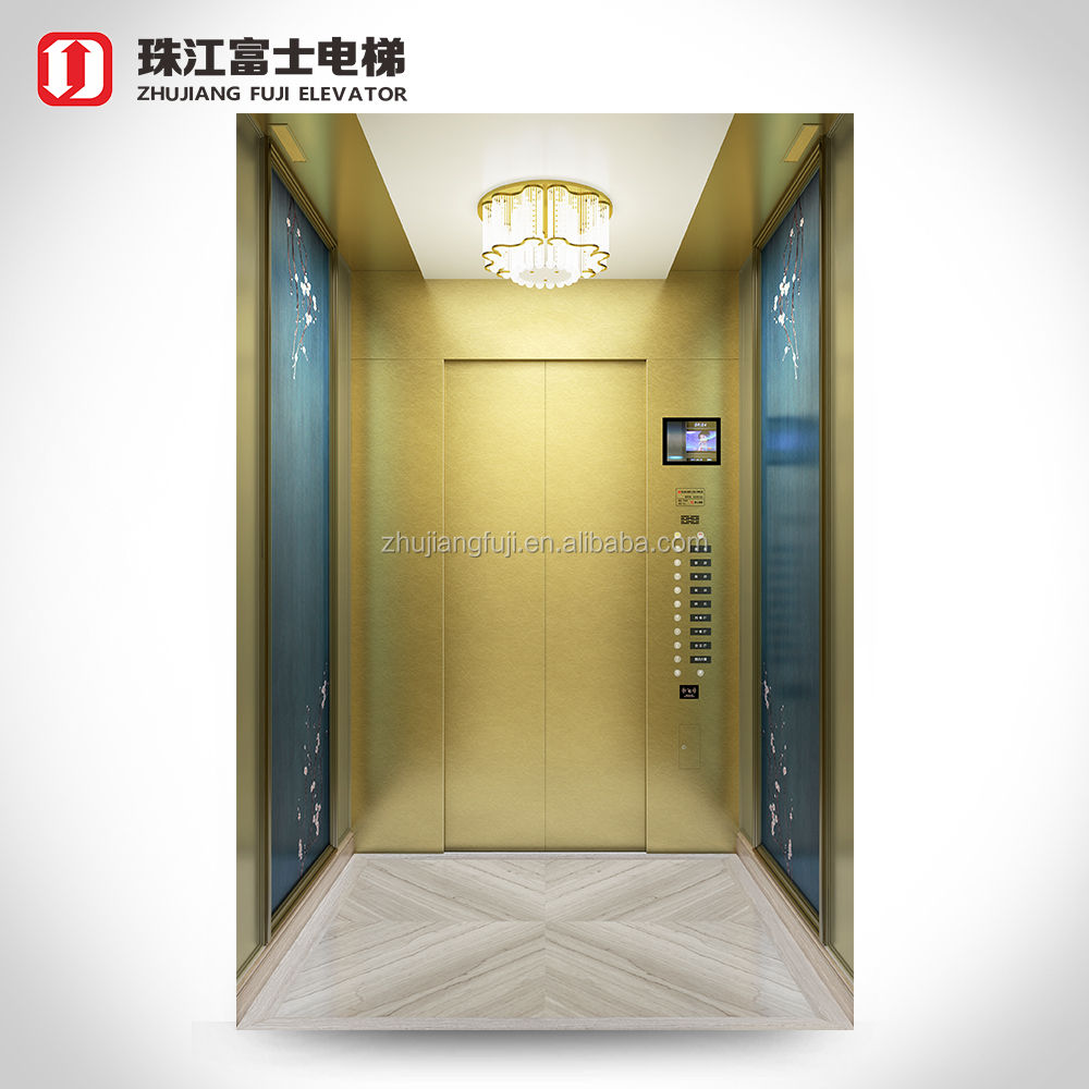 China Producer Standard Type Customized economical residential passenger elevator deluxe lift commercial hotel